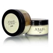 «Золото» отшелушивающая маска для лица, 50 гр., производитель «Кхади»