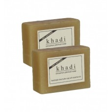 Khadi Natural™Cinnamon Pitchouli Soap (Set of 2)