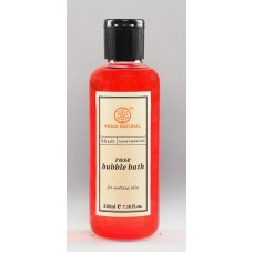 Khadi Natural™ Rose Aromatic Bubble Bath