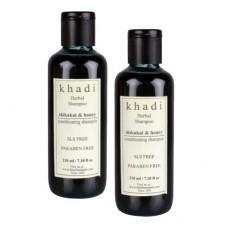 Khadi Natural™ Shikakai & Honey Shampoo (Set of 2) - SLS & Paraben Free