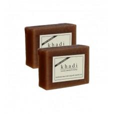 Khadi Natural™ Woody Sandal & Honey Soap - Set of 2