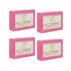 Khadi Natural™ Herbal Rose Water Soap (Set of 4)