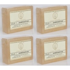 Khadi Natural™ Herbal Sandalwood Soap (Set of 4)