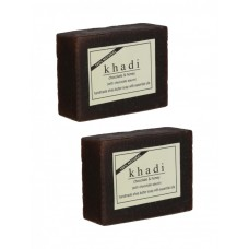 Khadi Natural™ Chocolate Honey With Chocolate Sauce Soap - Set of 2