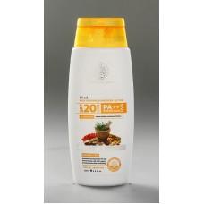 Khadi Natural™ Sunscreen Moisturising Lotion 200ml - SPF 20