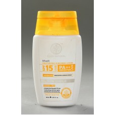 Khadi Natural™ Sunscreen Moisturising Lotion 120ml - SPF 15