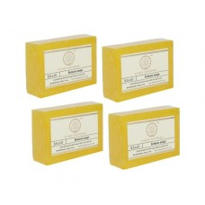 Khadi Natural™ Herbal Lemon Soap (Set of 4)