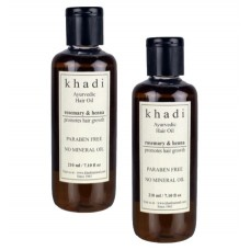 Khadi Natural™ Rosemarry & Henna Hair Oil (Set of 2)