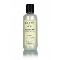 Khadi Natural™ Green Tea & Mint Body wash- SLS & Paraben Free