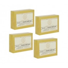 Khadi Natural™ Herbal Chandan Haldi Soap (Set of 4)
