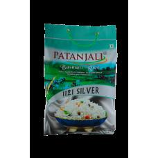 Patanjali Basmati rice silver, 5kg
