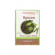 Patanjali Black pepper whole, 100gm