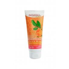 Patanjali Honey orange face wash, 60gm