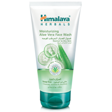 Himalaya Herbals Moisturizing Aloe Vera Face Wash, 100ml