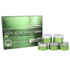 Khadi Natural™ Anti-Acne Solutions Mini Facial Kit (With Tea Tree & Basil)