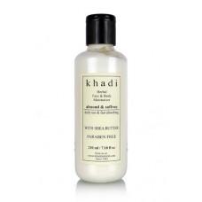Khadi Natural™ Almond & Saffron Moisturizer- Paraben Free