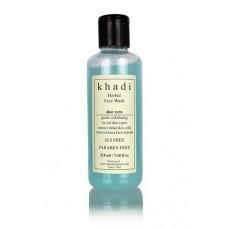 Khadi Natural™ Aloevera Face Wash With Scrub (SLS & Paraben Free)