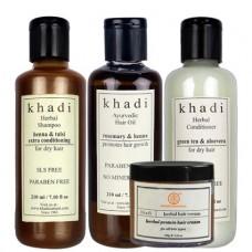 Khadi Natural™ Herbal Anti Hair fall Solution (Combo)