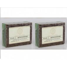 Khadi Natural™ Herbal Apricot Scrub Soap(Set of 2)