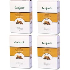 Banjara's Kasturi Turmeric Set of 4 Pack  (100 g)