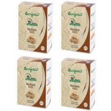 Banjara's Multani Mitti Powder 100 GM 4 packs  (400 g)