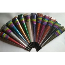 GOLECHA glitter cones