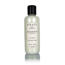 Khadi Natural™ Herbal Green Tea & Aloevera Hair Conditioner- SLS & Paraben Free