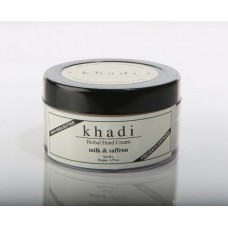 Khadi Natural™ Hand Cream Milk & Saffron - With Sheabutter