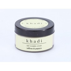 Khadi Natural™ Saffron & Papaya Anti Wrinkle Cream