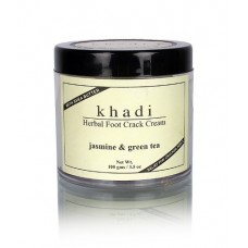 Khadi Natural™ Jasmine & Green Tea Herbal Foot Crack Cream / With Sheabutter / 100 g