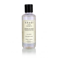 Khadi Natural™ Jasmine, Mogra and Green Tea Body Massage Oil- Without Mineral Oil