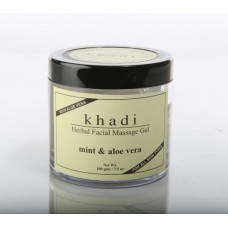 Khadi Natural™ Mint & Alovera Face Massage Gel