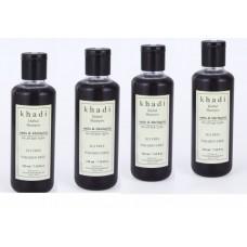 Khadi Natural™ Amla & Bhringraj Shampoo (SLS/Paraben Free) - (Set of 4)