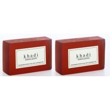 Khadi Natural™ Herbal Strawberry Soap (Set of 2)