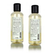 Khadi Natural™ Herbal Shampoo Honey & Vanilla (Set of 2)