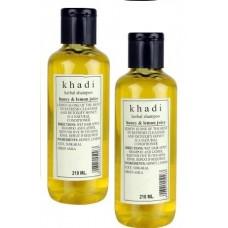 Khadi Natural™ Herbal Shampoo With Honey & Lemon Juice (Set of 2)