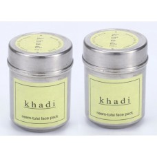 Khadi Natural™ Neem-Tulsi Face Pack (Set of 2)