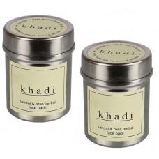 Khadi Natural™ Rose & Orange Face Pack (Set of 2)