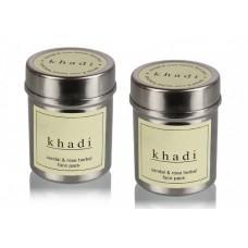Khadi Natural™ Sandal & Rose Face Pack (Set of 2)