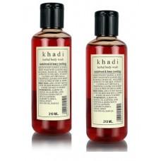 Khadi Natural™ Herbal Sandalwood & Honey Body Wash (Set of 2)