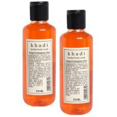 Khadi Natural™ Orange and Lemongrass Body Wash (Set of 2)