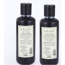 Khadi Natural™ Herbal Amla & Reetha Shampoo (Set of 2)