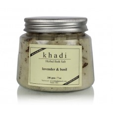 Khadi Natural™ Lavender & Basil Bath Salt