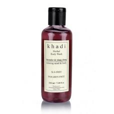 Khadi Lavender & Ylang Ylang Body Wash - SLS & Paraben Free