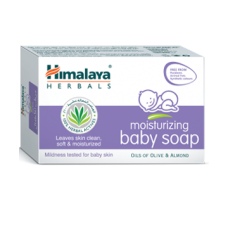Himalaya Herbals moisturizing baby soap, 125g
