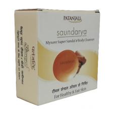 Patanjali Saundarya mysore super sandal body cleanser, 75gms
