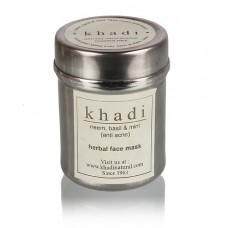 Khadi Natural™ Neem, Basil & Mint Face Pack(Anti Acne)