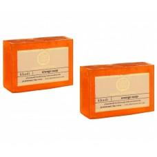 Khadi Natural™ Herbal Orange Soap(Set of 2)