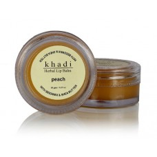 Khadi Natural™ Natural Peach Lip Balm- With Beeswax & Shea Butter