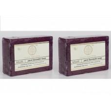 Khadi Natural™ Herbal Pure Lavender Soap(Set of 2)
